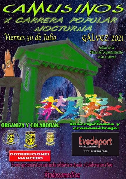 X CARRERA NOCTURNA DE GALVEZ